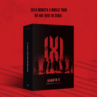 몬스타엑스 (MONSTA X) - 2019 MONSTA X World Tour [We Are Here] In Seoul DVD