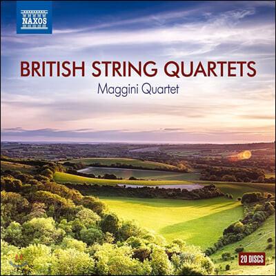 Maggini Quartet 영국 현악 사중주 모음집 (British String Quartets)