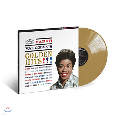Sarah Vaughan (사라 본) - Golden Hits [골드 컬러 LP]