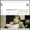 ���亥: �ǾƳ� ���ְ� 1-5�� (Beethoven: Complete Piano Concerto Nos. 1 - 5 - GG Collection vol.10) (3CD) - Glenn Gould