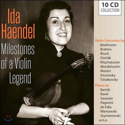 Ida Haendel 이다 헨델 바이올린 연주집 (Milestones Of A Violin Legend)