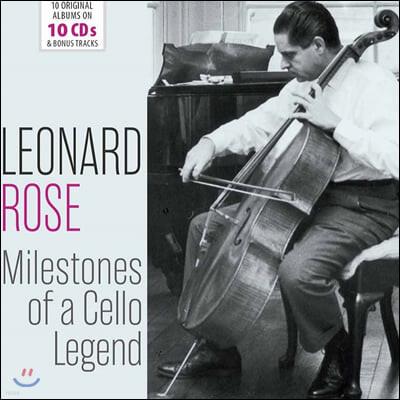 Leonard Rose 레너드 로즈 첼로 연주집 (Milestones Of A Cello Legend)