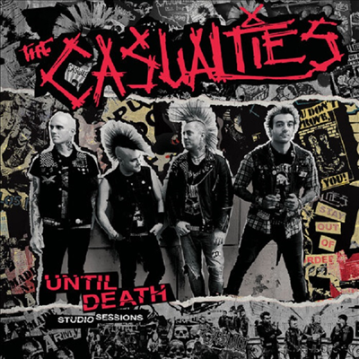 Casualties - Until Death - Studio Sessions (Colored LP)