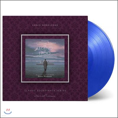 피아니스트의 전설 영화음악 (The Legend Of 1900 by Ennio Morricone 엔니오 모리꼬네) [블루 컬러 LP]