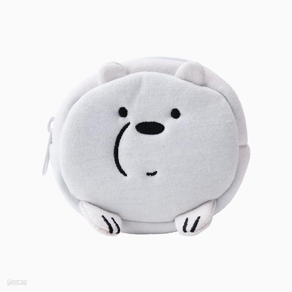 위 베어 베어스 쪼꼬미 동전지갑 - 아이스베어