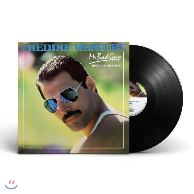 Freddie Mercury (프레디 머큐리) - Mr. Bad Guy [LP]