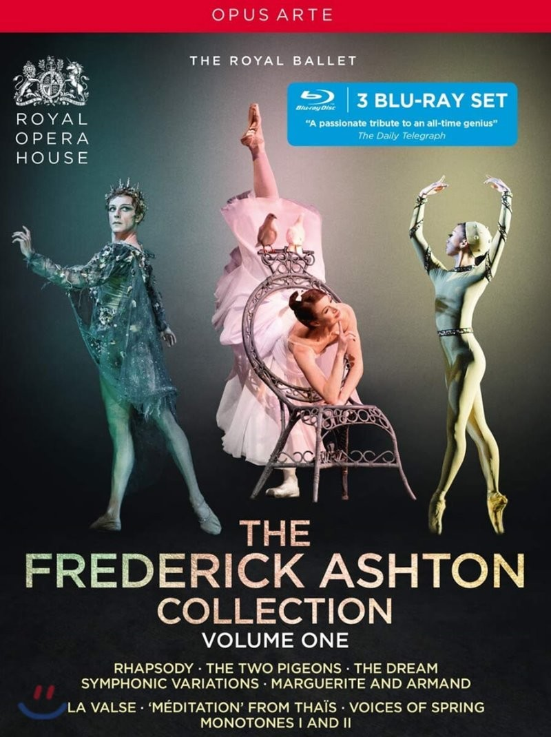 The Royal Ballet 프레드릭 애쉬톤 컬렉션 Vol. 1 (The Frederick Ashton Collection, Volume 1)