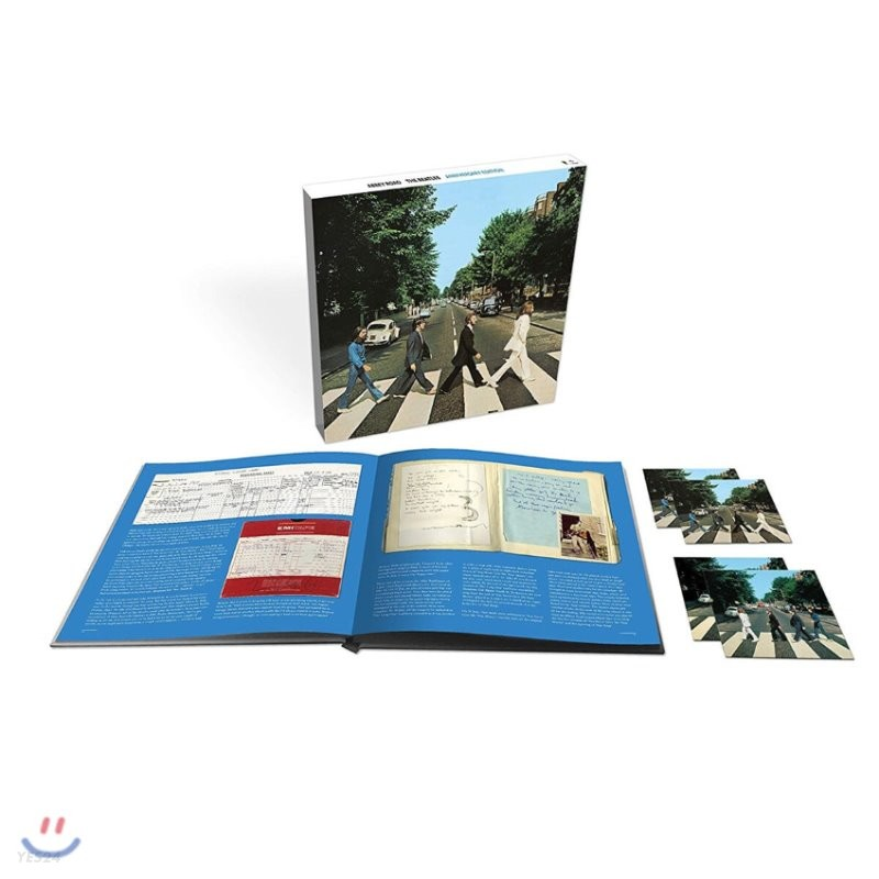 The Beatles - Abbey Road 50th Anniversary 비틀즈 애비로드 발매 50주년 기념 앨범 [Super Deluxe]