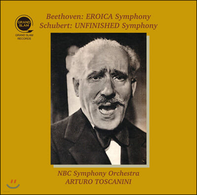 Arturo Toscanini 베토벤: 교향곡 3번 '영웅' / 슈베르트: 교향곡 8번 미완성 (Beethoven: Eroica Symphony / Schubert: Unifinished Symphony)