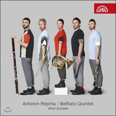 Belfiato Quintet 안톤 레이하: 관악 5중주 E플랫장조, e단조, d장조 (Anton Rejcha: Wind Quintets)