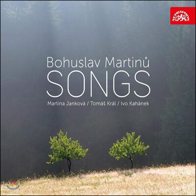 Martina Jankova / Tomas Kral 마르티누: 가곡과 노래 (Martinu: Songs)