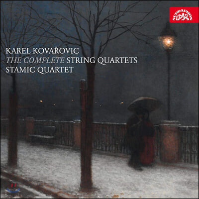 Stamic Quartet 카렐 코바로비츠: 현악사중주 1-3번 (Karel Kovarovic: The Complete String Quartets)