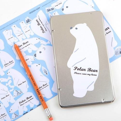 프리미엄네임스티커북극곰이야기