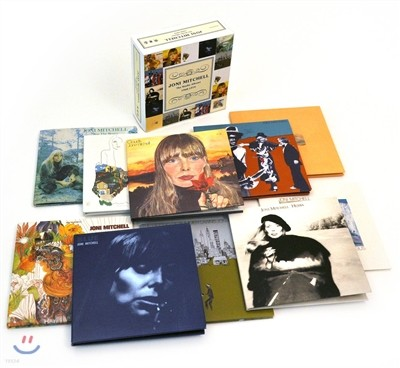 Joni Mitchell - The Studio Albums 1968-1979 (Limited Edition)