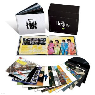 Beatles - The Beatles Stereo Box Set (Vinyl Box Set)(Remastered)(Original Artwork)(250 Page Book)(180G)16LP)