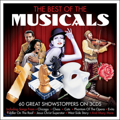 인기 뮤지컬 음악 모음집 (The Best of the Musicals: 60 Great Showstoppers)