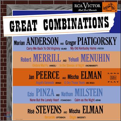 현악기와 성악의 명협연 모음집 (The Great Combinations) [LP]
