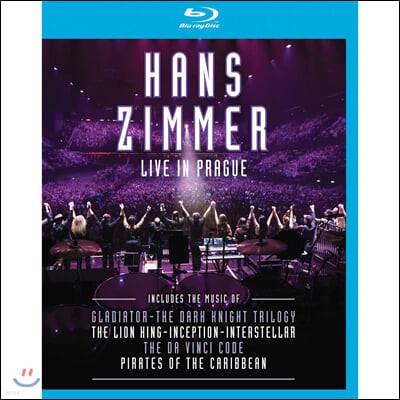 Hans Zimmer - Live In Prague 한스 짐머 2016년 프라하 공연 라이브 [블루레이]