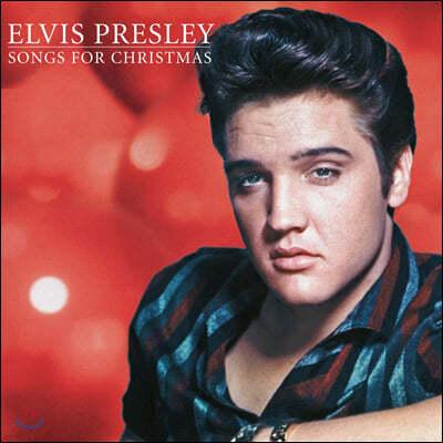 Elvis Presley - Songs for Christmas 엘비스 프레슬리 크리스마스 앨범 [골드 컬러 LP]
