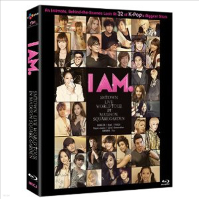소녀시대/보아/F(x)/강타/수퍼주니어/동방신기 - I Am: Smtown Live At Madison Square Garden (2Blu-ray) (2012)(Blu-ray)