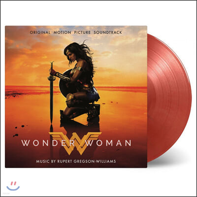 원더 우먼 영화음악 (Wonder Woman OST by Rupert Gregson) [레드 컬러 2LP]