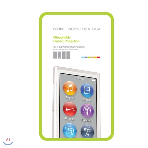 [BEFINE] 올레포빅 전신 보호 필름 BF-N713 For iPod nano7