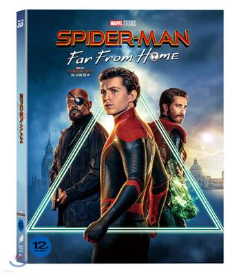 스파이더맨 : 파 프롬 홈 3D & 2D 합본+Bonus Disc [슬립케이스 한정판 초회 한정 3Disc]