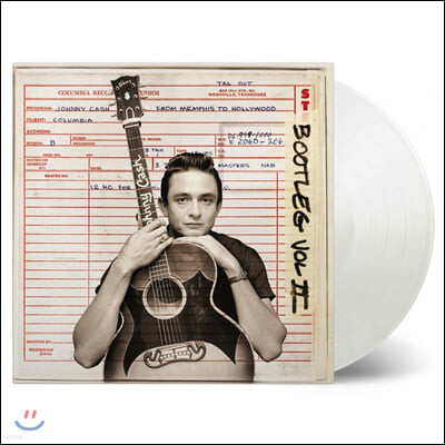 Johnny Cash (조니 캐쉬) - Bootleg Vol 2: From Memphis to Hollywood [투명 컬러 3LP]