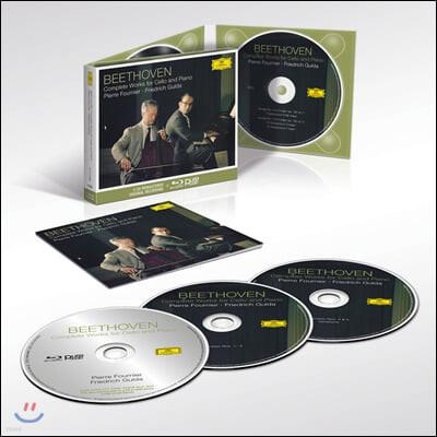 Pierre Fournier / Friedrich Gulda 베토벤: 첼로 소나타 전곡집- 피에르 푸르니에, 프리드리히 굴다
