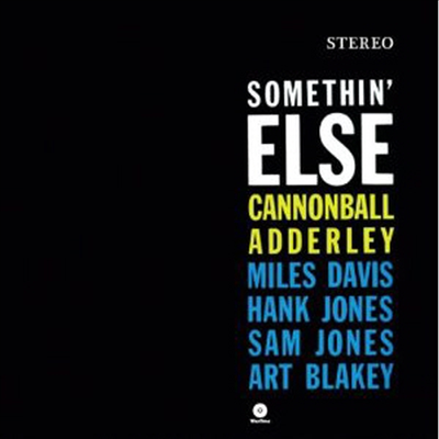 Cannonball Adderley - Somethin' Else (Bonus Track)(180G)(LP)