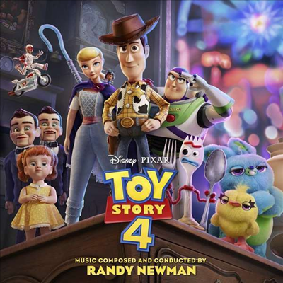 O.S.T. - Toy Story 4 (By Randy Newman)(토이 스토리 4)
