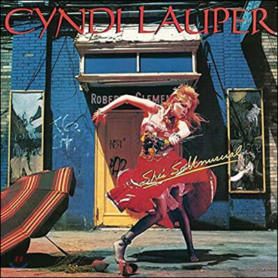 Cyndi Lauper (신디 로퍼) - She's So Unusual [LP]