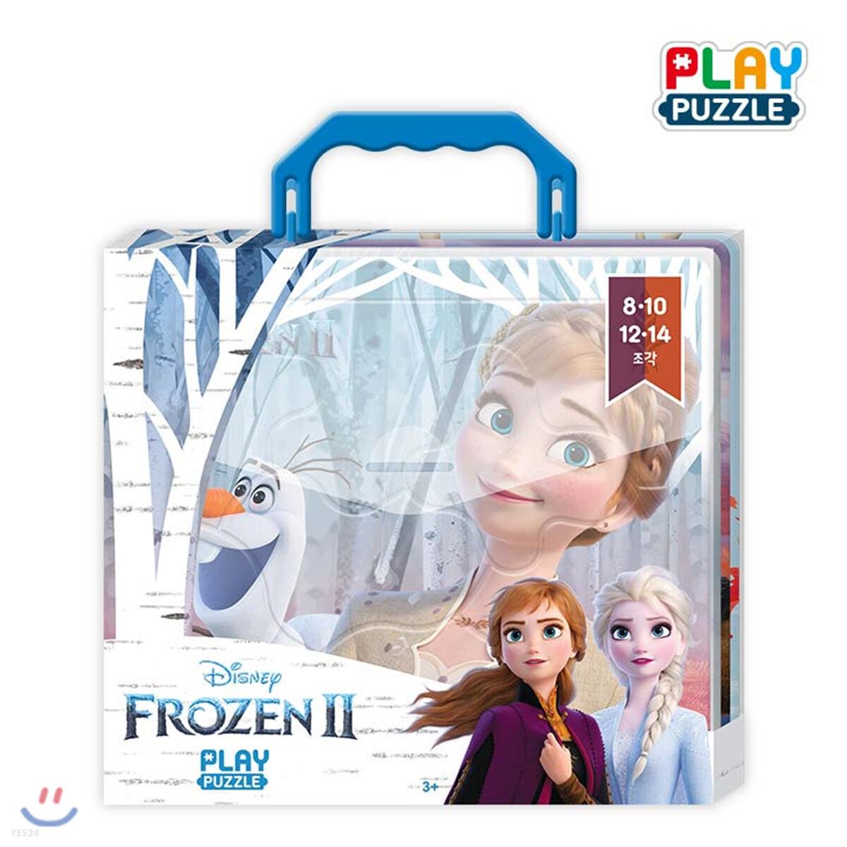 디즈니 미니 가방 퍼즐 겨울왕국 2