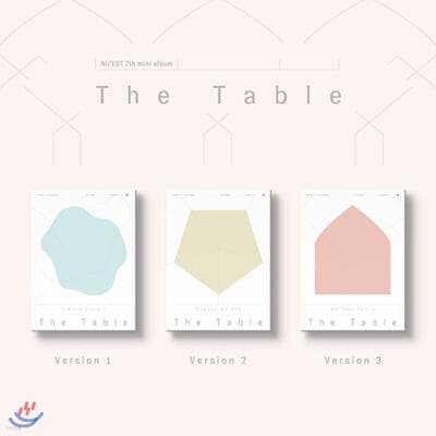 뉴이스트 (NU'EST) - 미니앨범 7집 : The Table [SET]