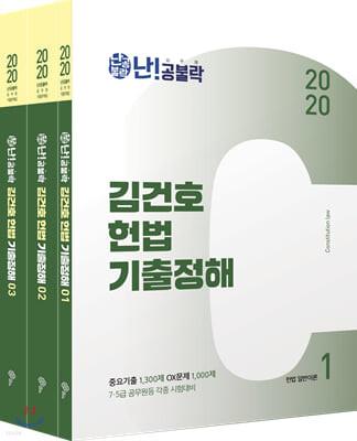 2020 난공불락 김건호 헌법 기출정해