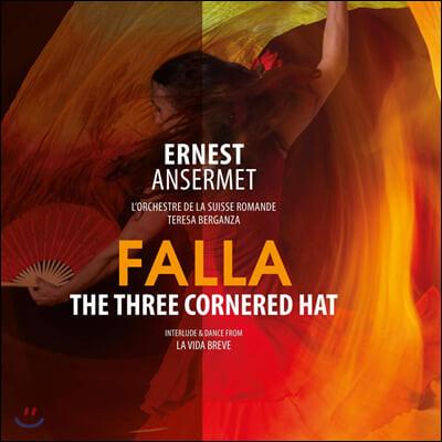 Ernest Ansermet 파야: 삼각 모자 - 에르네스트 앙세르메 (Falla: The Three Cornered Hat) [LP]