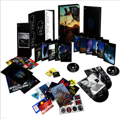 Pink Floyd - Later Years (1987-2019) (5CD+6Blu-ray+5DVD+7 Inch Single LP)