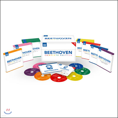 베토벤 탄생 250주년 기념 박스 세트 (Beethoven Complete Edition)