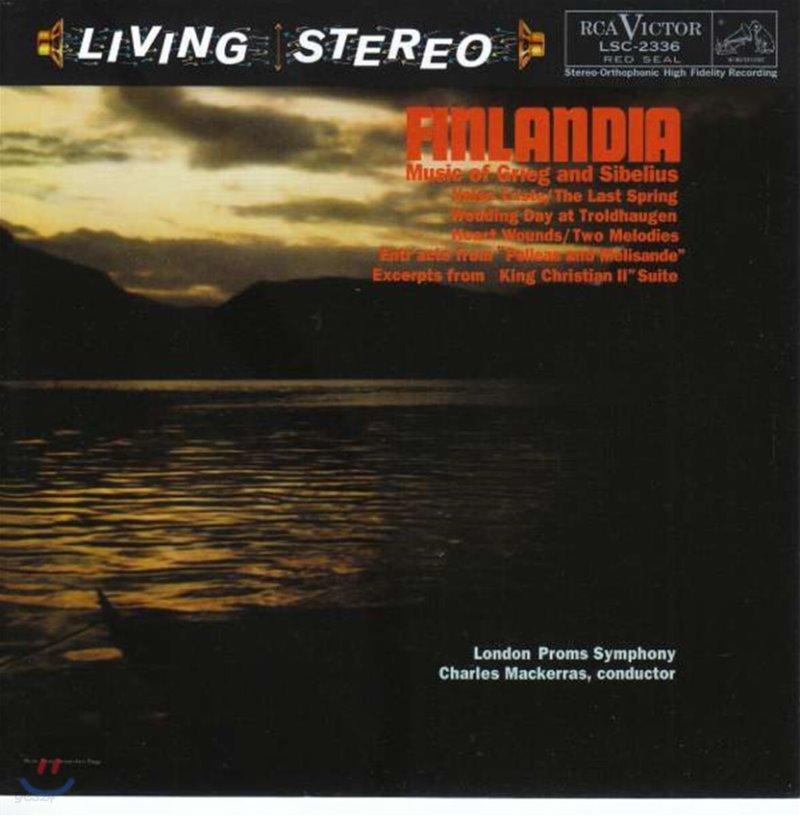Charles Mackerras 핀란디아 - 그리그와 시벨리우스의 음악 (Finlandia)