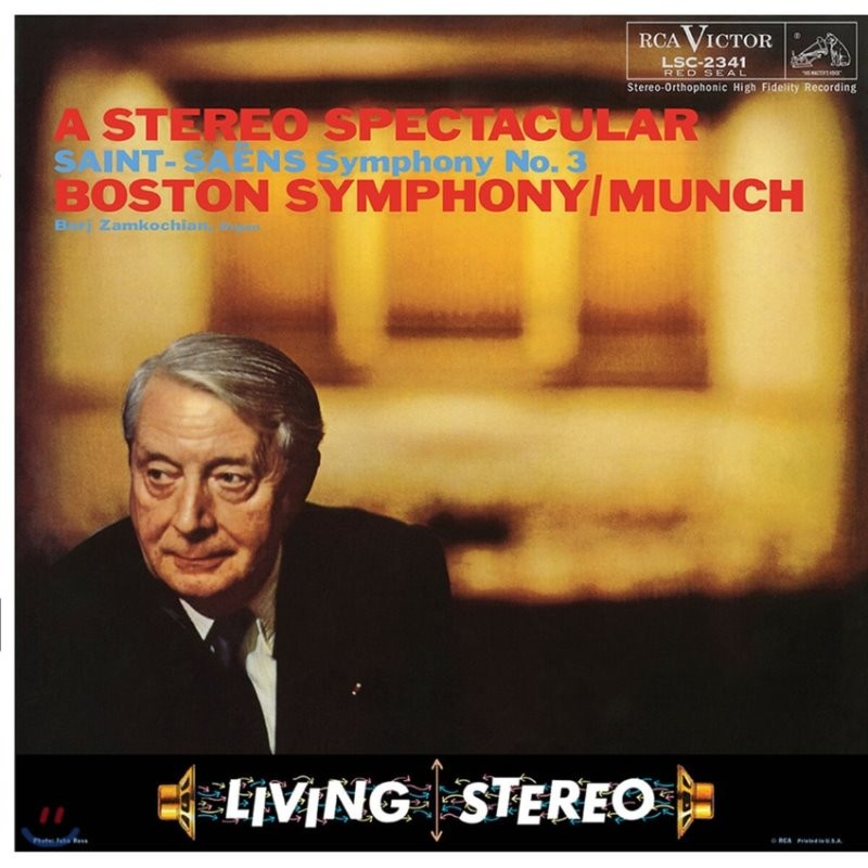 Charles Munch 생상스: 교향곡 3번 (Saint-Saens: Symphony Op. 78)