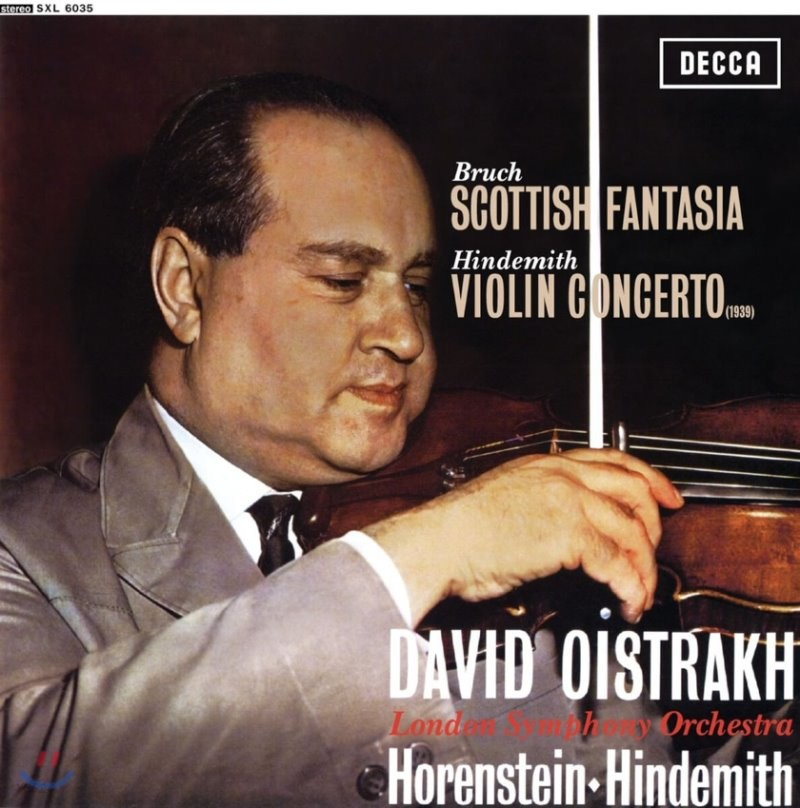 David Oistrakh 브루흐: 스코틀랜드 환상곡 / 힌데미트: 바이올린 협주곡 (Bruch: Scottish Fantasy / Hindemith: Violin Concerto)