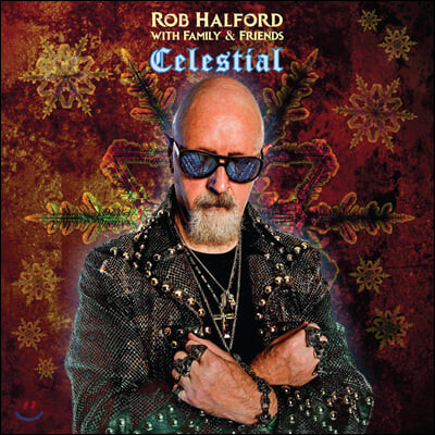 Rob Halford with Family and Friends - Celestial 롭 핼포드 크리스마스 앨범 [LP]