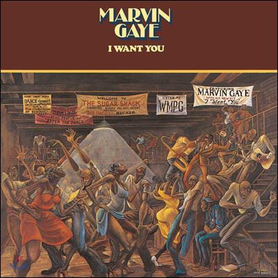 Marvin Gaye (마빈 게이) - I Want You [화이트 컬러 LP]