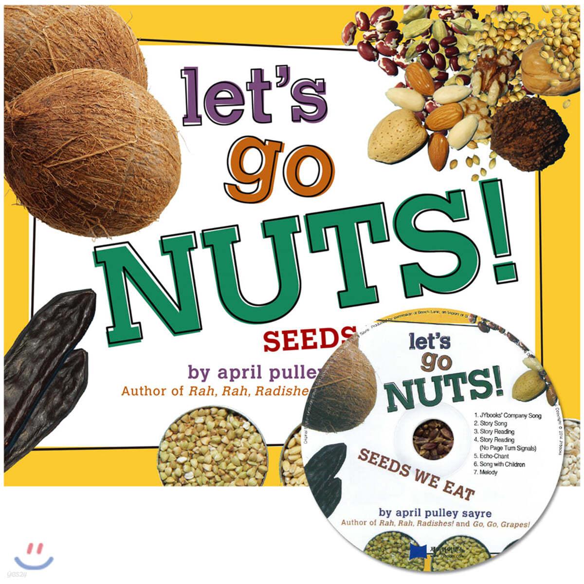 [노부영 세이펜] Let's Go Nuts! (원서 & 노부영 CD)