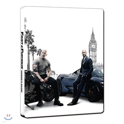 분노의 질주:홉스&쇼 (2 Disc 4K UHD 스틸북, 한정수량) : 블루레이