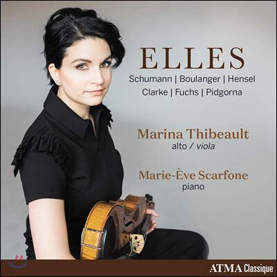 Marina Thibeault 여성 작곡가들의 비올라 명곡집 (Elles)