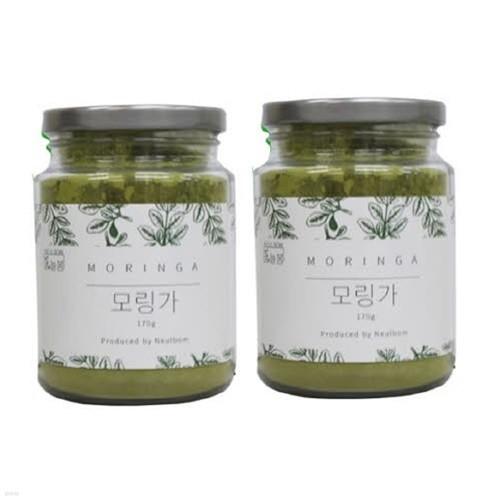[늘봄식품] 모랑가 잎 가루 150g(고급용기) 2개