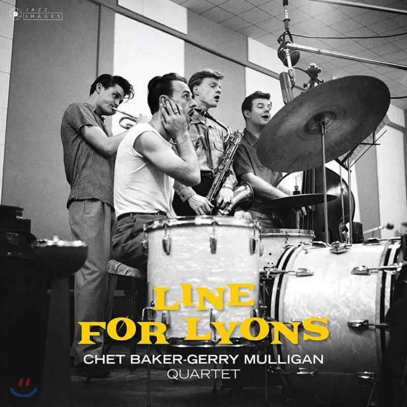 Chet Baker & Gerry Mulligan (쳇 베이커 & 제리 멀리건) - Line for Lyons [LP]