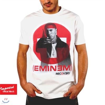 에미넴 (Eminem) Recovery 공식 티셔츠 락티셔츠 락시크룩 밴드티셔츠 브라바도 GRV Rockchic Roxic UNISEX