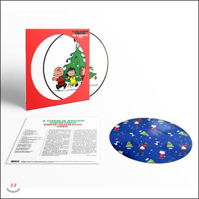 찰리 브라운 크리스마스 음악 (A Charlie Brown Christmas OST by Vince Guaraldi Trio) [픽쳐 디스크 LP]